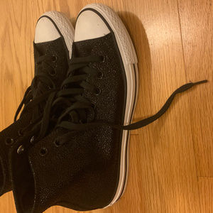 Converse Chucks Lo Sting Ray Glitter Metallic
